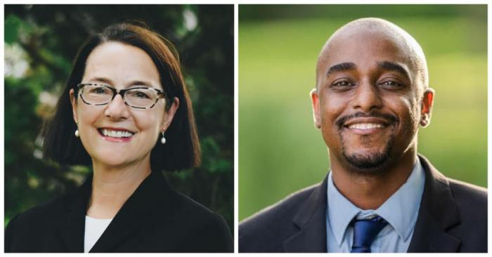 Republican State Rep. Amy Grant and her Democratic opponent Kevin Mejia-Beal