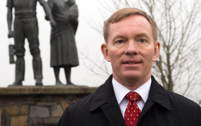 Chris Bryant,teh Labour MP, who chronicled the story of the Glamour Boys for his upcoming book