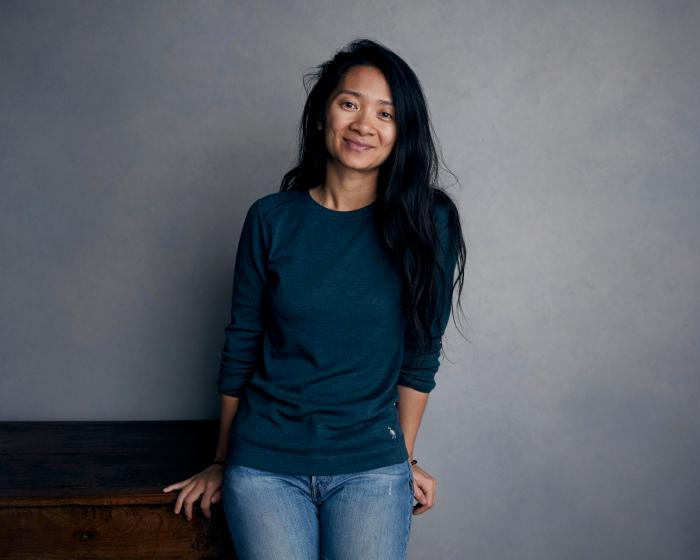 "Chloe Zhao poses for a portrait to promote her film ""Nomadland"" during the Sundance Film Festival in Park City, Utah on Jan. 22, 2018. (Photo by Taylor Jewell/Invision/AP, File)"