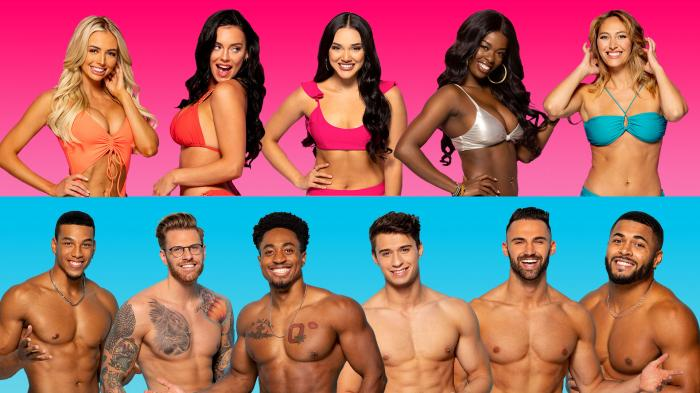 """Contestants from a recent season of """"Love Island"""""""