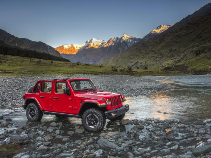 This photo provided by Stellantis North America shows the 2021 Jeep Wrangler Rubicon Unlimited