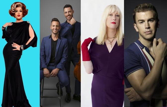 Katya Smirnoff-Skyy, Branden & James, Justin Vivian Bond and Spencer Day are among the upcoming acts at the reopened Feinstein's at The Nikko