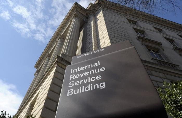 In this photo March 22, 2013, file photo, the exterior of the Internal Revenue Service (IRS) building in Washington