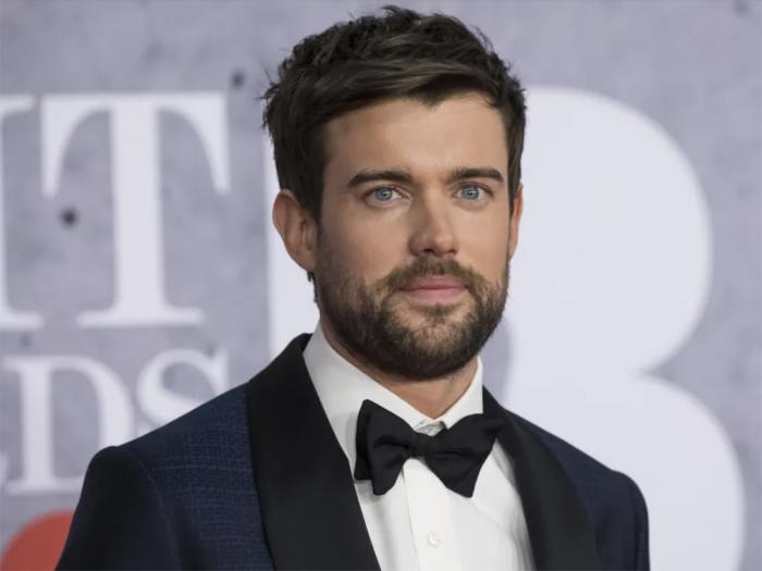 Jack Whitehall poses for photographers upon arrival at the Brit Awards in London, Wednesday, Feb. 20, 2019