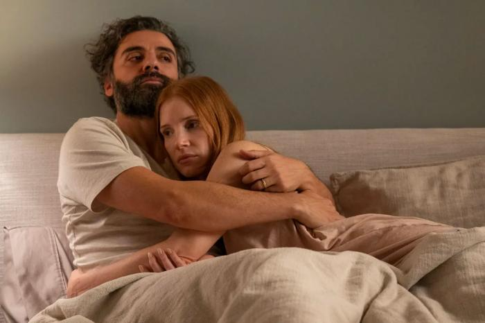 """Oscar Isaac and Jessica Chastain in HBO Max's """"Scenes from a Marriage"""""""