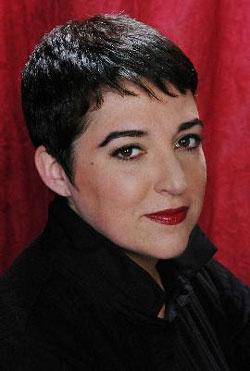 Singer Terese Genecco, appearing in her tribute to jazz and openly gay singer Frances Faye.